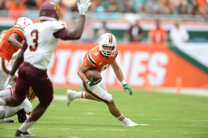 Braxton Berrios earns his place in Miami's history after being a ...