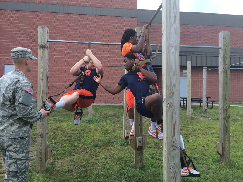 Syracuse enjoys team-building activities instructed by Fort