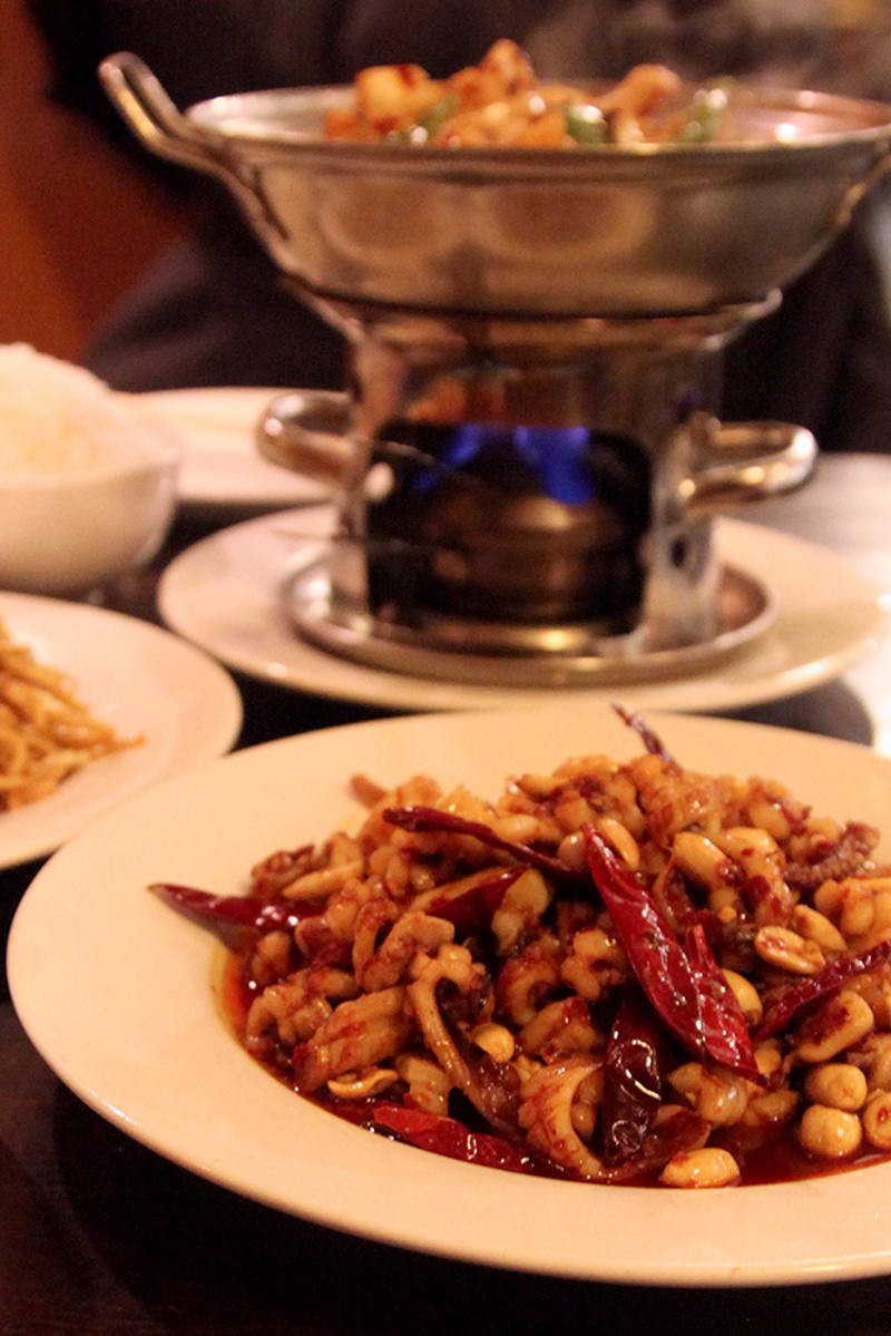 Tang flavor near armory square serves authentic chinese food for the kung pao squid listed as a spicy dish contains chili peppers and squid forumfinder Image collections