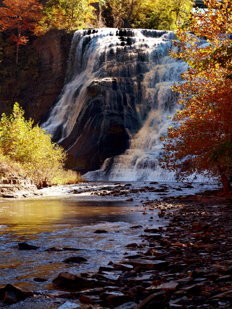 The Waterfalls In Ithaca Are Nationally Recognized As Some Of Most Beautiful Landscapes