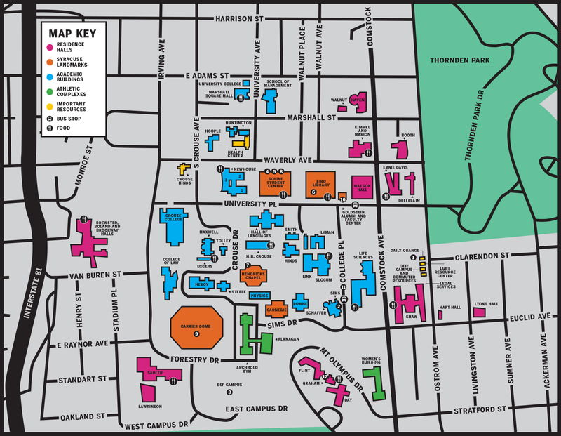Syracuse University lingo and places every student should know The – Syracuse University Housing Floor Plans