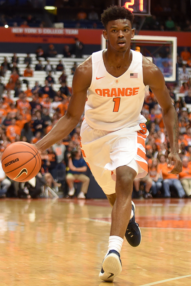 Frank Howard Leans On Basketball Iq To Pave Way To Syracuse