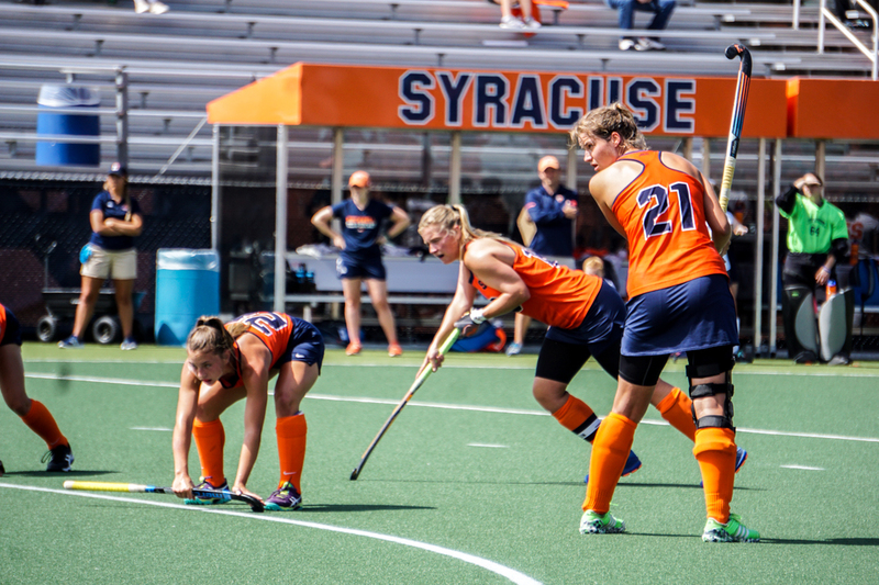 no 5 syracuse midfield dominates in 5 0 victory over bucknell the