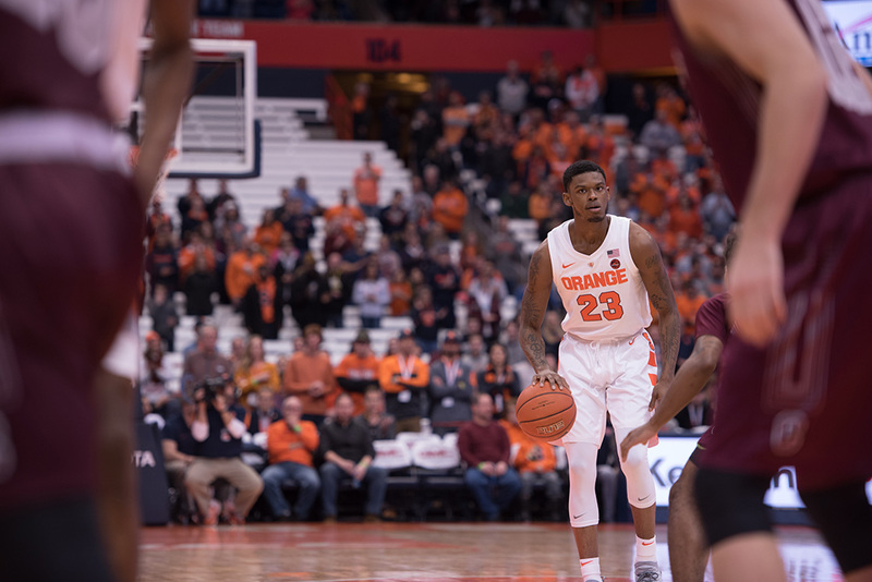 Frank Howard At 60 Or 70 Percent And Back As Syracuse S Starting