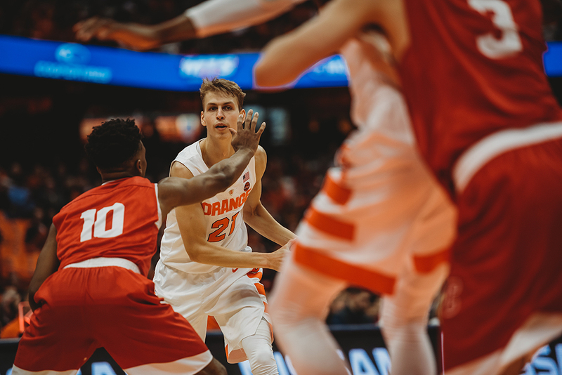 See How Syracuse Struggled Against Cornell S Match Up Defense