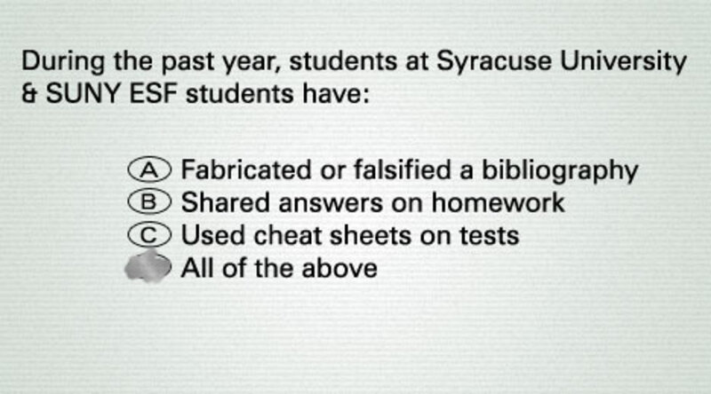Faking Grade >> Faking The Grade Survey Shows Students Have History Of Cheating