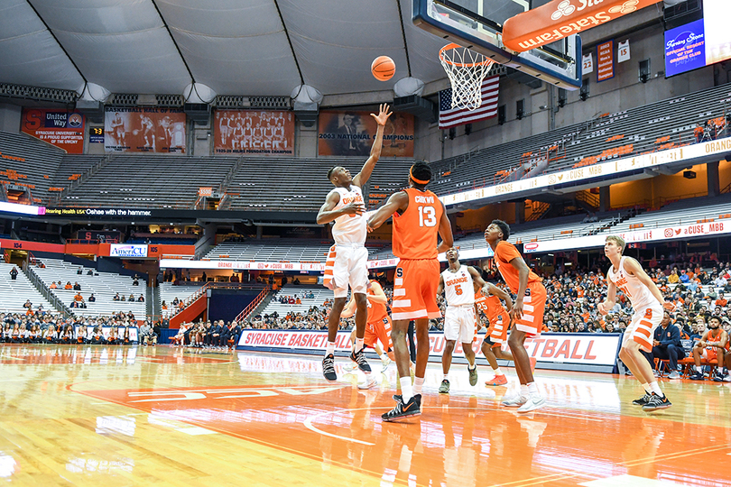 Gallery Syracuse Takes To The Court In Orange White Scrimmage The